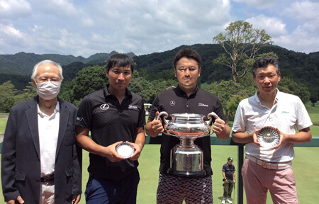 梶井 哲二 選手おめでとうございます!